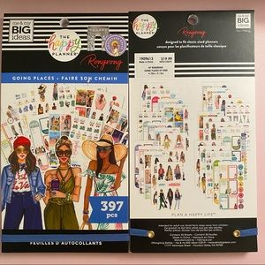 The Happy Planner Rongrong Sticker Book